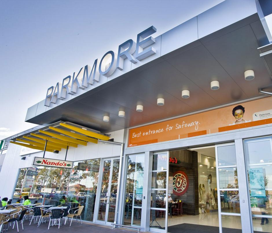 Parkmore Shopping Centre – New Entry
